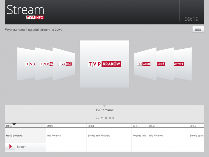 TVP Stream na poselskich tabletach!