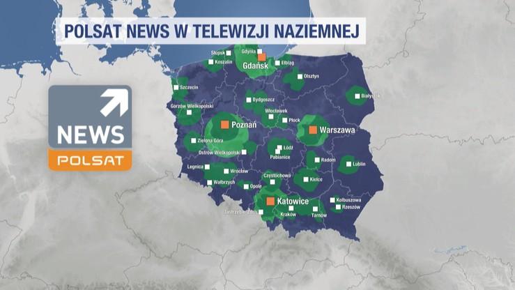 Polsat News w telewizji naziemnej
