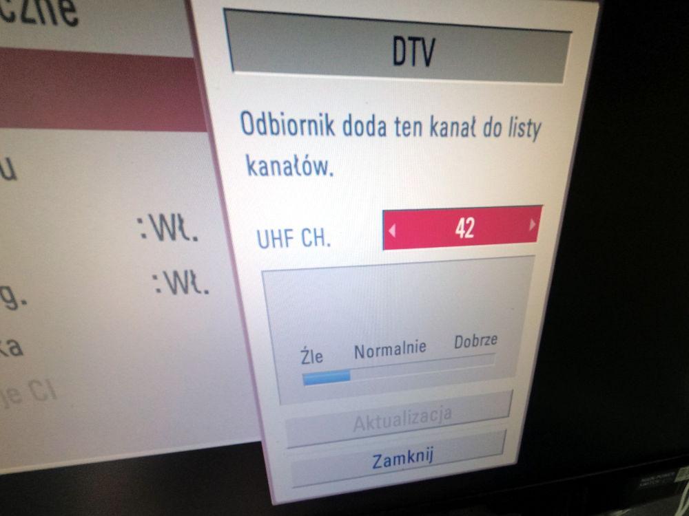 Jak szukać kanałów w telewizji naziemnej - instrukcja krok, po kroku