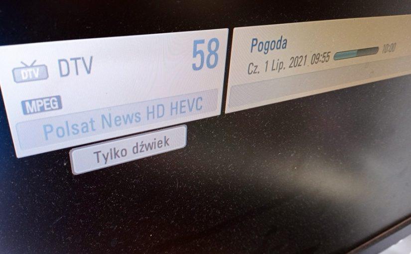 Polsat News zniknął z telewizji naziemnej. Brak obrazu, tylko dźwięk na MUX-4